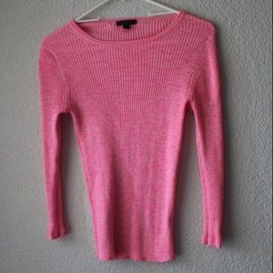 J Crew Hot Pink Stretchy T Shirt Size Small